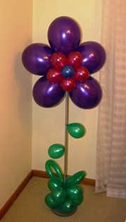 Flower on Stand